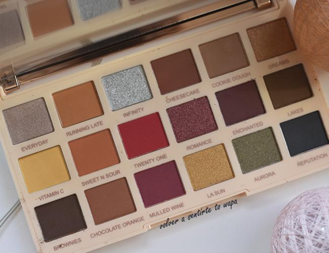 Paleta de Sombras de Ojos Makeup Revolution Soph X extra Spice