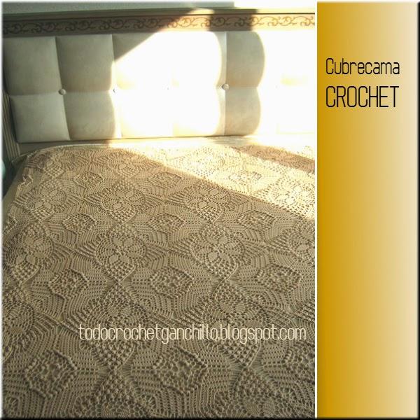 Diagramas de manta crochet
