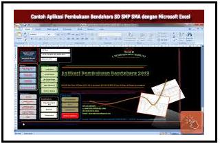 Aplikasi Pembukuan Bendahara Guru SD Format Excel Otomatis