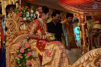 sana_yadi_reddy_son_nikhilesh_reddy_wedding_event