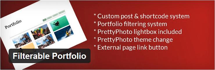 Filterable Portfolio plugin