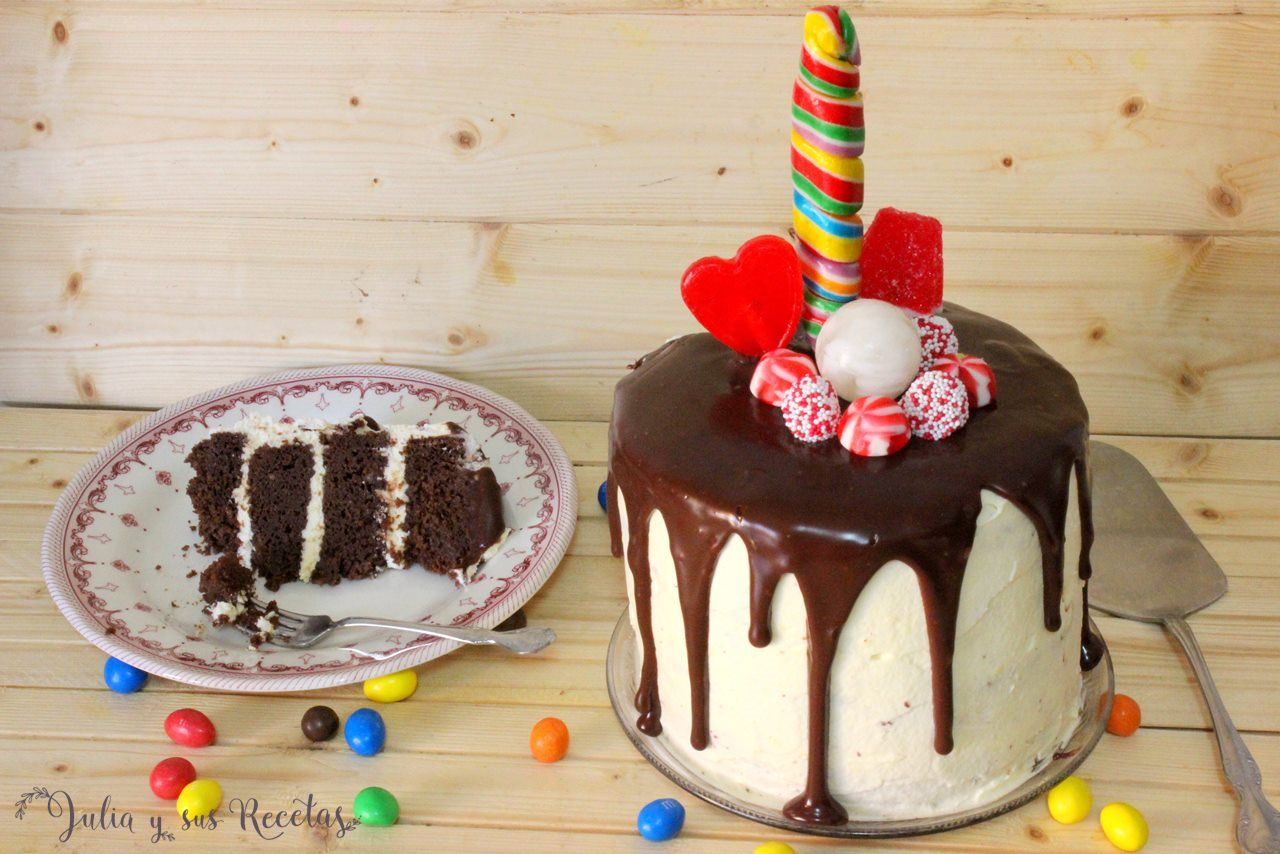 Chocolate Drip Cake Recipe