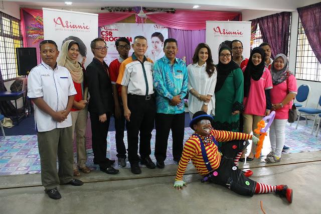 Asianic CSR program bersama Reen Rahim