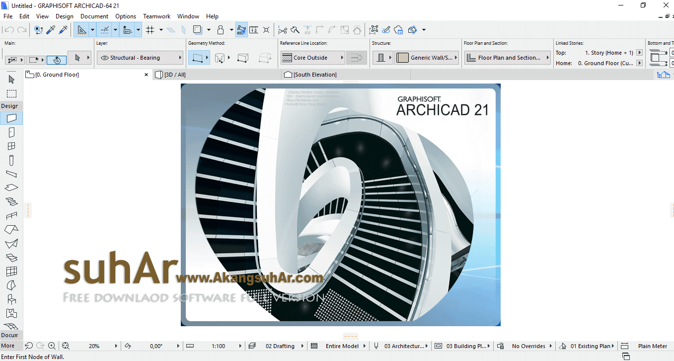 Free Download GraphiSoft ARCHICAD Full Version terbaru