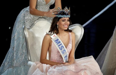 Miss Puerto Rico Crowned Miss World 2016