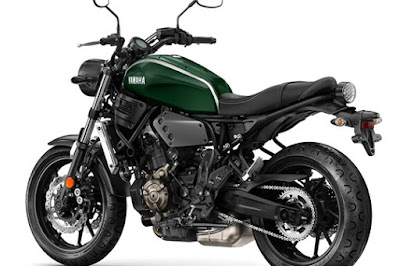 Yamaha XSR900 side image