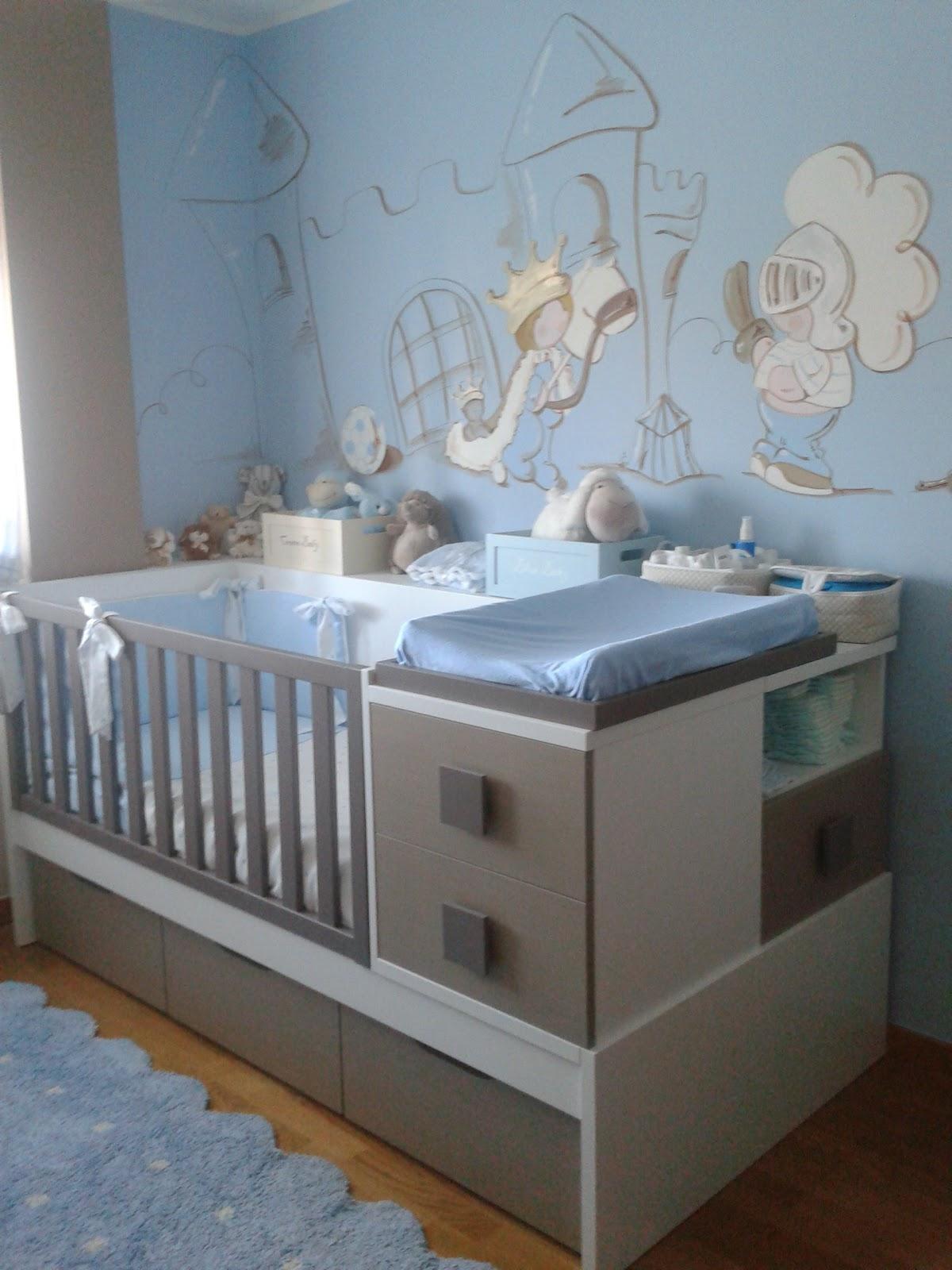 deco chambre b b peinture murale chambre enfant prince avec son ch teau. Black Bedroom Furniture Sets. Home Design Ideas