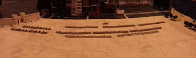 10mm Trojan War game put on at Claymore picture 1