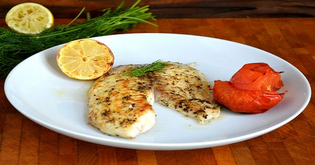 Broiled Tilapia With Dill And Roasted Tomatoes Recipe