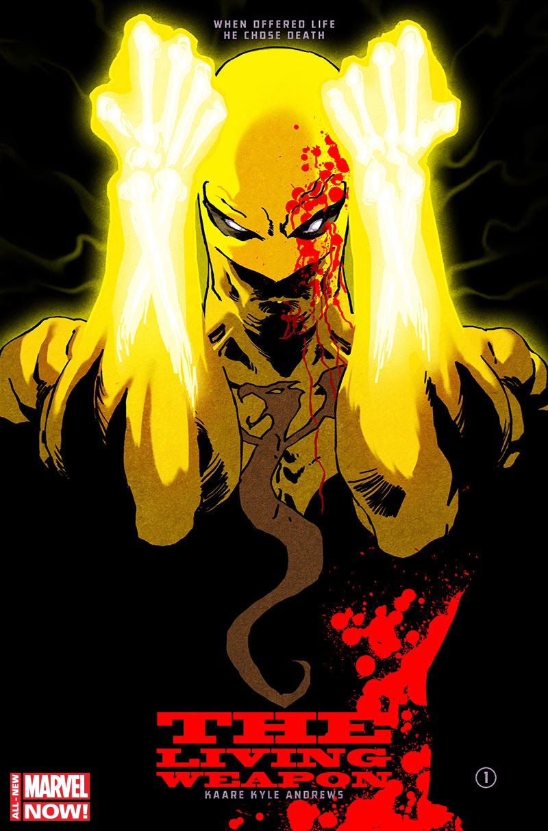 iron fist kaare andrews aux poings de fer