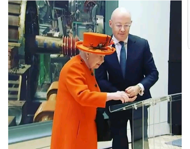The moment Her Majesty The Queen made her first ever Instagram post (video)
