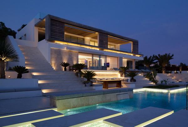 arsitektur rumah mewah minimalis