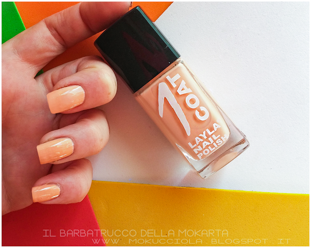 recensione layla 1coat n 32 nails nailart polish