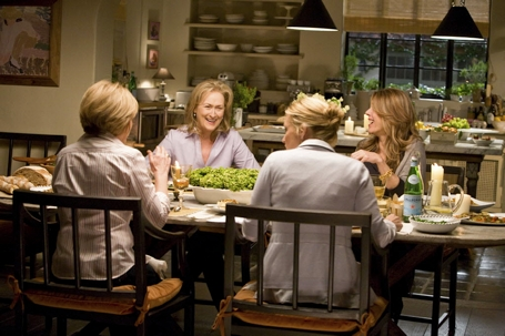 It's Complicated movie dining room