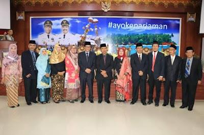 Inilah 11 Orang Anggota Dewan Pendidikan Kota Pariaman 2019-2024 Yang Baru Saja Dilantik Walikota Genius Umar