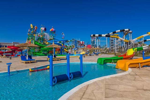 افتتاح مدينة الباتروس أكوا بارك للألعاب المائية بشرم الشيخ