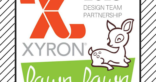 Roller Coaster Card with Xyron & Lawn Fawn