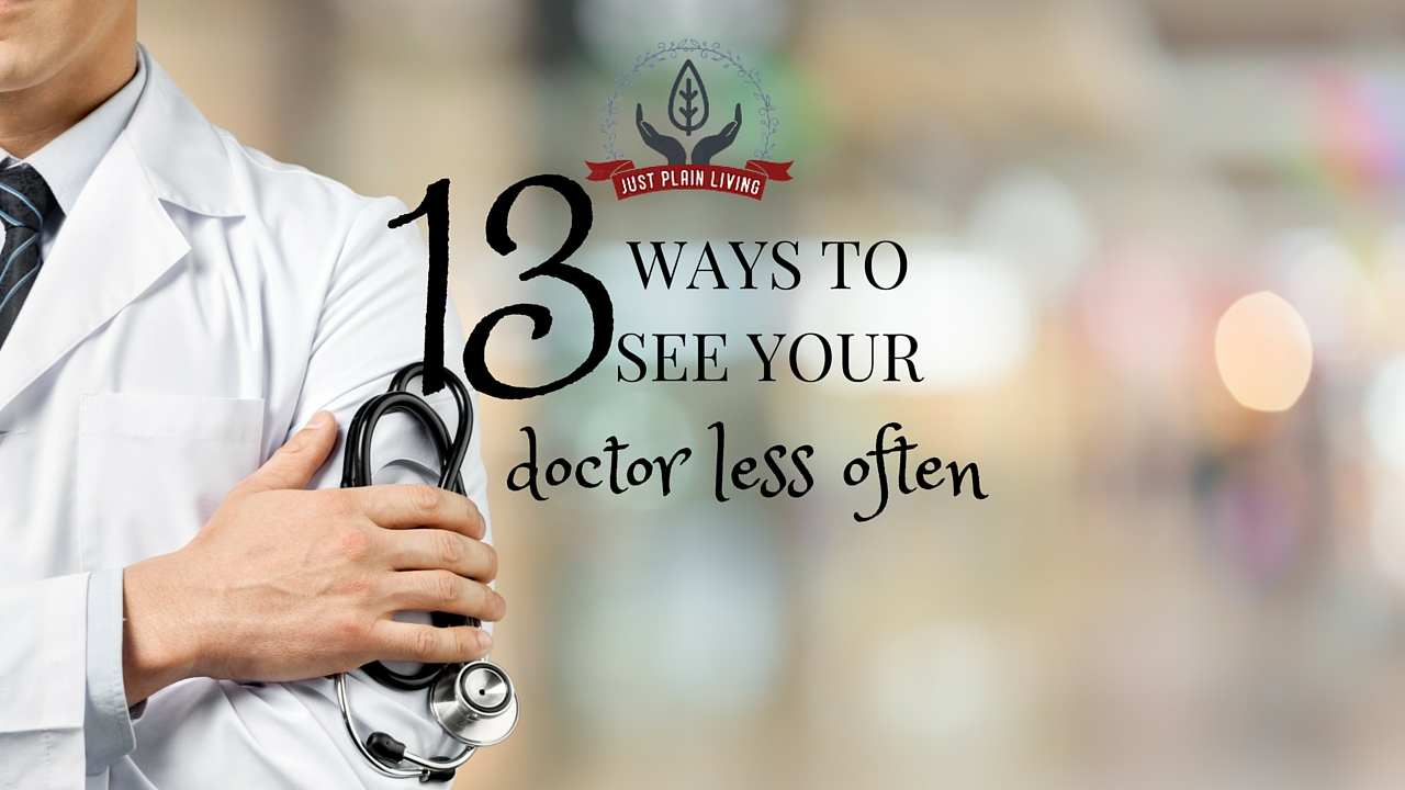 Taking control of your health with some simple lifestyle changes can drastically cut down on the time you spend in your doctor's waiting room.