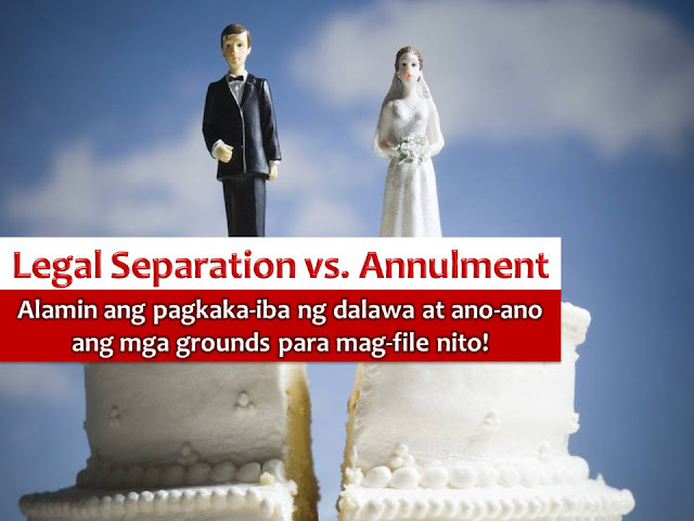 When couples cannot work out their differences, an annulment may be the last option for them to move on and to start all over again. We all know that divorce is not yet allowed in the country. So if you feel that you are trapped in your marriage, you can seek an annulment. They said this is the only recourse for problematic marriages in the Philippines.  However, there are marriages that cannot be annulled and only qualified for legal separation.
