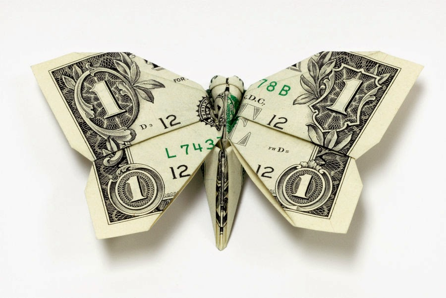 Some Interesting Facts About Paper Money: Origami made of ... - photo#1