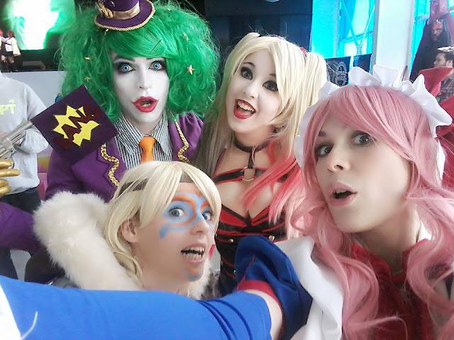 cosplay latinoamerica Lilia Lemoine C-Pher Cosplay JDRagones Gwendy Guppy LadyLemonCosplay