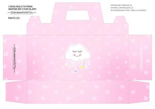 Lluvia de Bendiciones para Niña: : Caja Maleta para Imprimir Gratis.