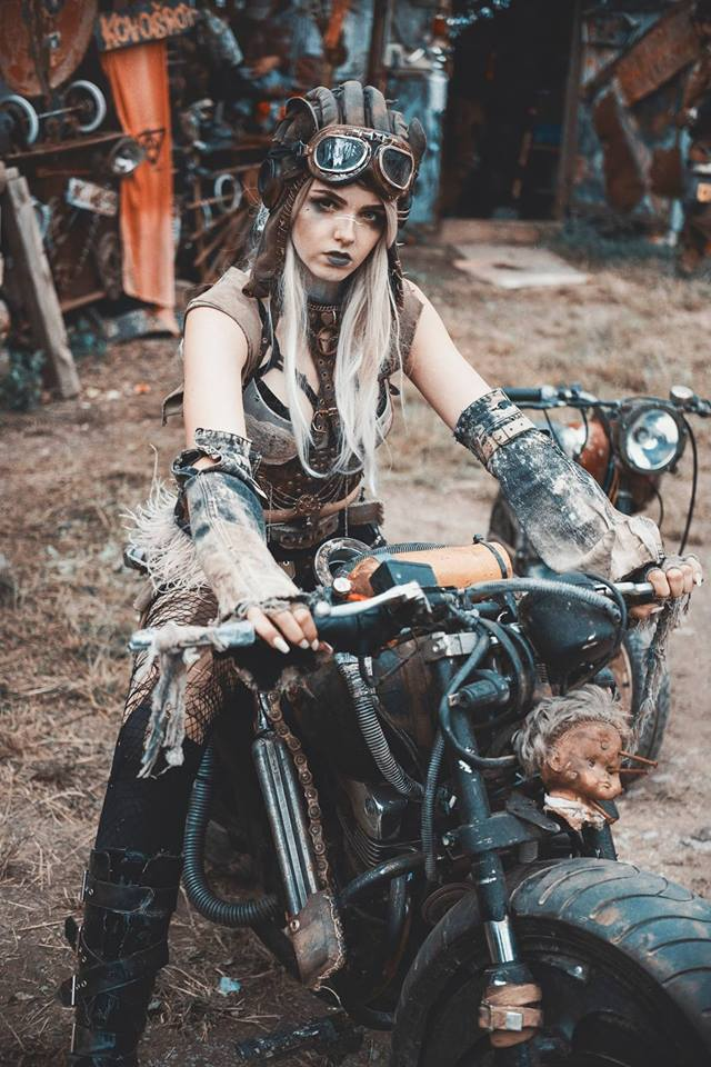 Pohli Cosplay by Broken Photography via Wasteland Warriors