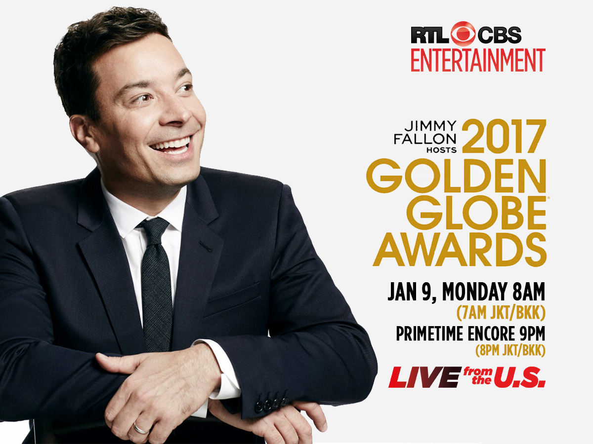 Jimmy Fallon to host 2017 Golden Globe Awards