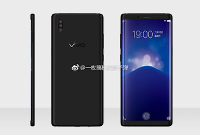 Vivo Xplay 7 with Under Display Fingerprint Sensor leaked