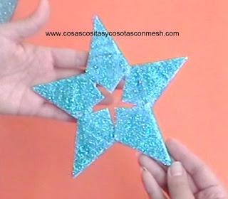 Estrellas-papel-reciclado