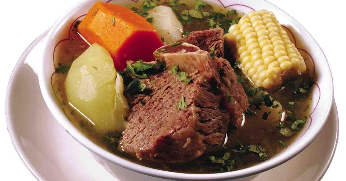 Sopa de res salvadoreña | Recetas Con Sabor Latino