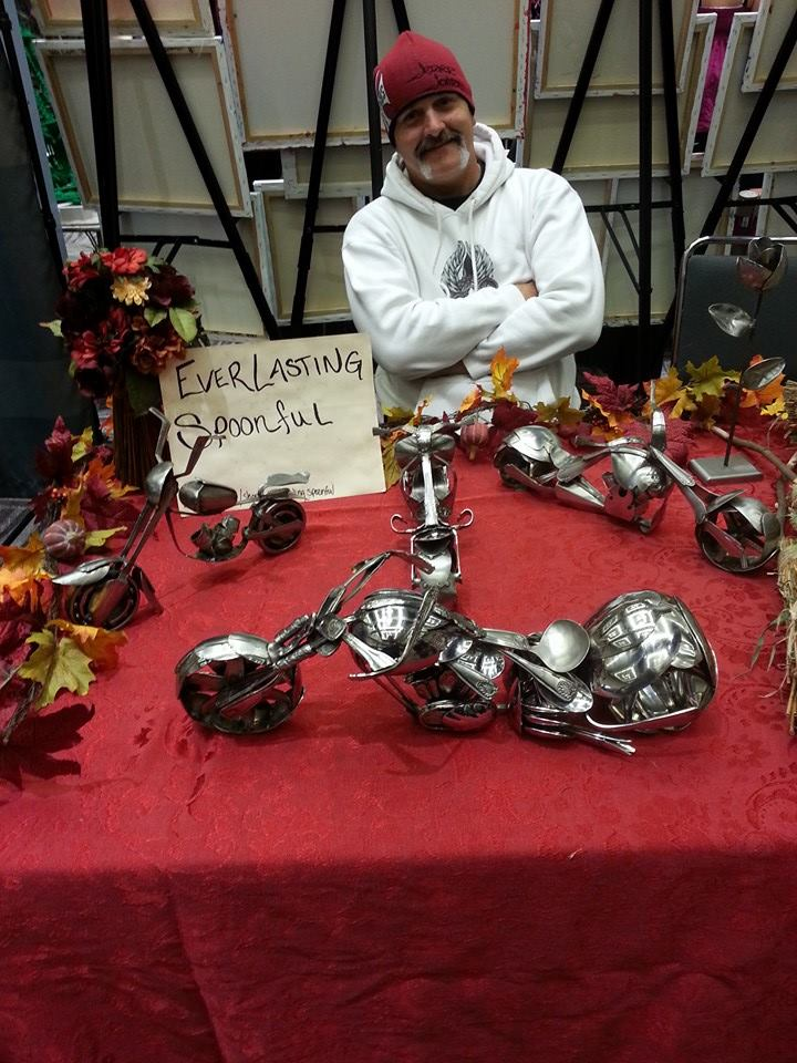 12-Jim-Rice-Chopper-Motorcycle-Sculptures-made-from-Spoons-www-designstack-co