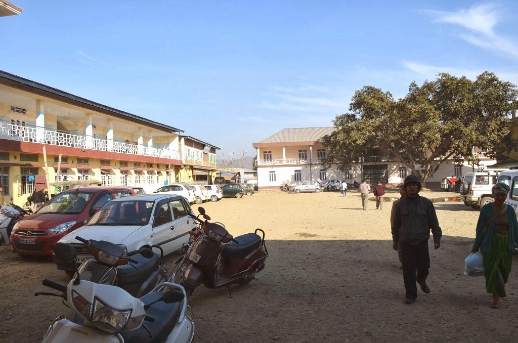 PhualvaTimes Photo Blog: Churachandpur District Hospital - 2014 : Lamka Town