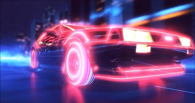 Neon Car Wallpaper Engine