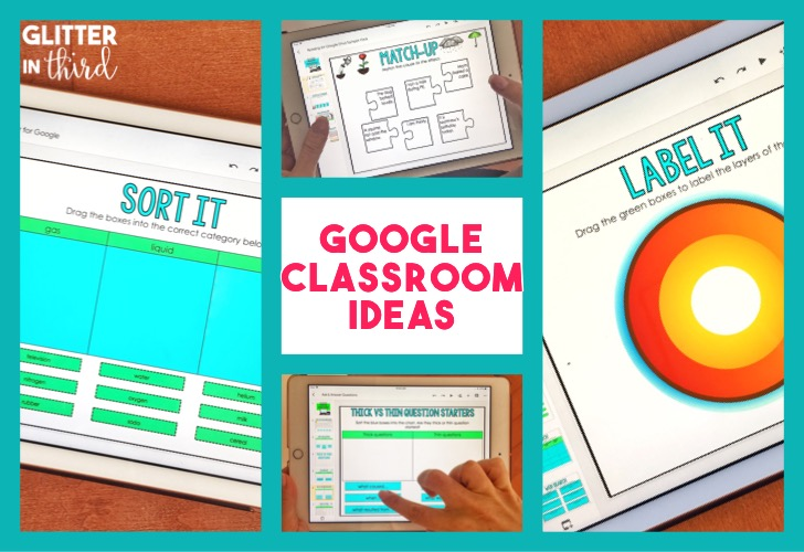 Ideas for using Google Classroom in elementary school