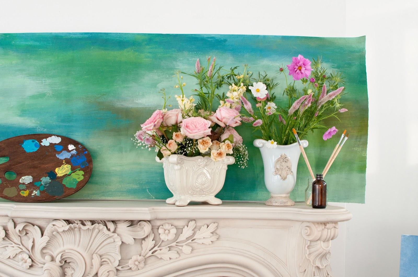 French impressionist theme wedding flowers Monet water lilies palette wedding ideas inspiration athenaandeugenia