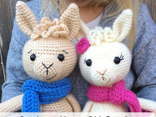 Crochet A Llama CAL - Part 1