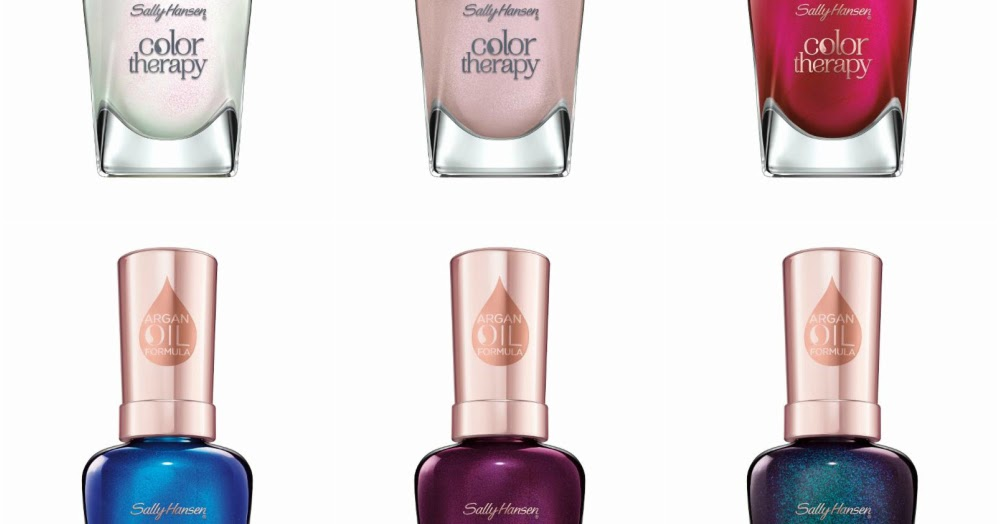 NEW! Sally Hansen Color Therapy Enchanting Gems Collection ...