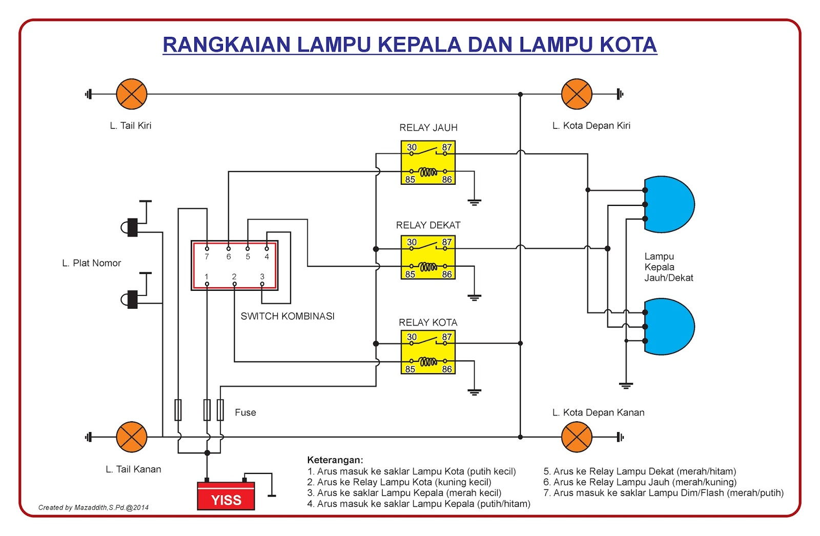 wiring diagram lampu kepala example electrical wiring diagram u2022 rh olkha co