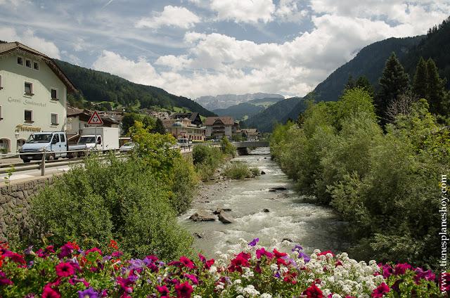 Diario viaje norte de Italia Ortisei paisajes Dolomitas