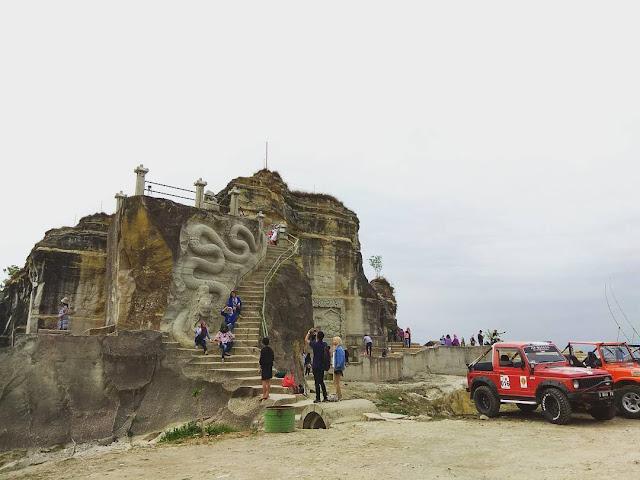 Liburan tour wisata ke Tebing Breksi Sleman Yogyakarta | Harga tiket, alamat, foto