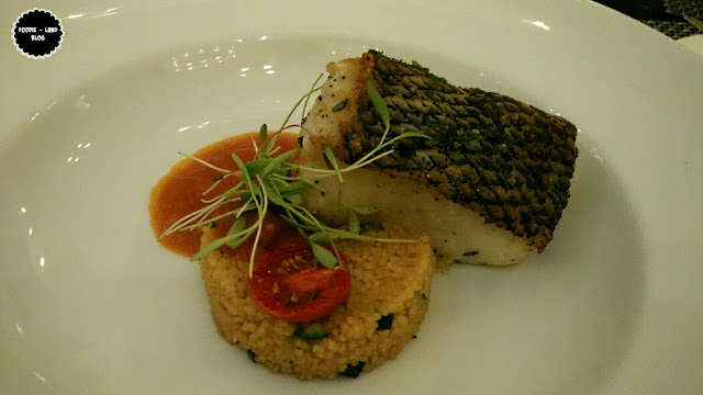 Chilean Sea Bass with Trapani style Couscous and Ghiotta sauce@The Italian Road Trip @ ALBA | JW Marriott Hotel | Bangalore