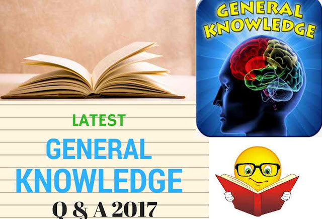 GK Questions 17th August 2017 PJH: Daily GK Update for All Upcoming Exams