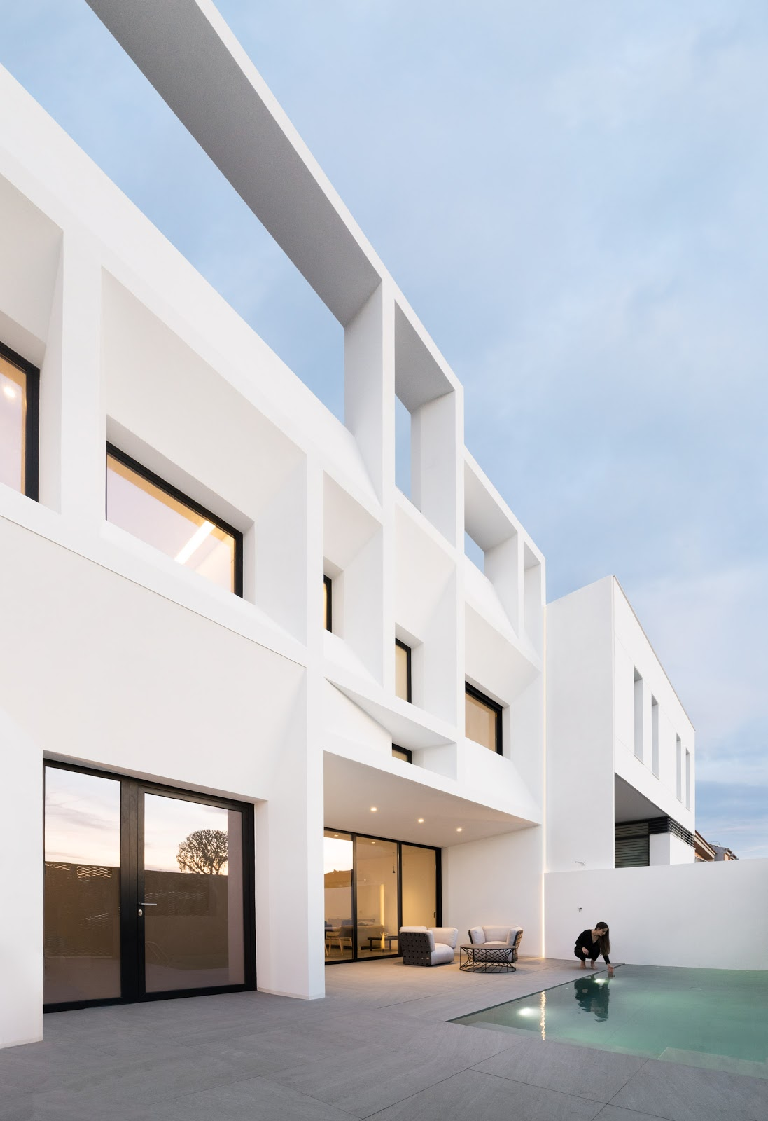 Arquitectos valencia ruben muedra estudio de - Viviendas en picanya ...
