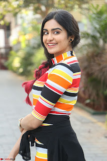 Adha Sharma in a Cute Colorful Jumpsuit Styled By Manasi Aggarwal Promoting movie Commando 2 (54).JPG