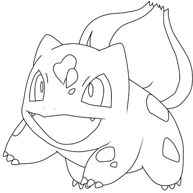 How To Draw Bulbasaur Bulbasaur In Pokemon Coloring Pages Bulbasaur