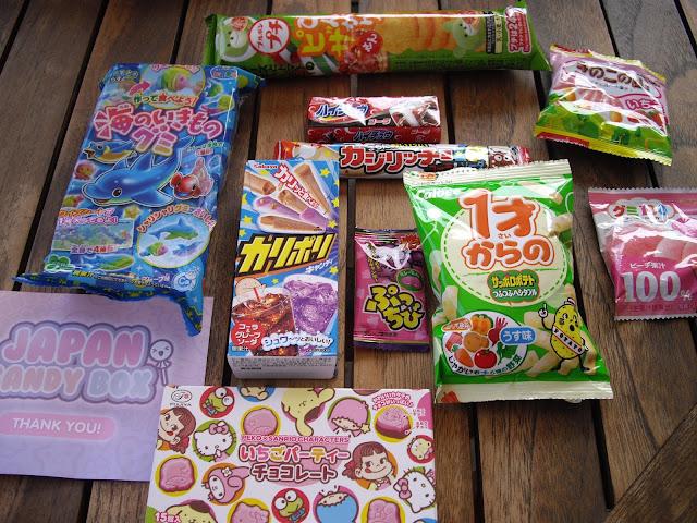 """Que lleva mi nueva Japan Candy Box"""""""