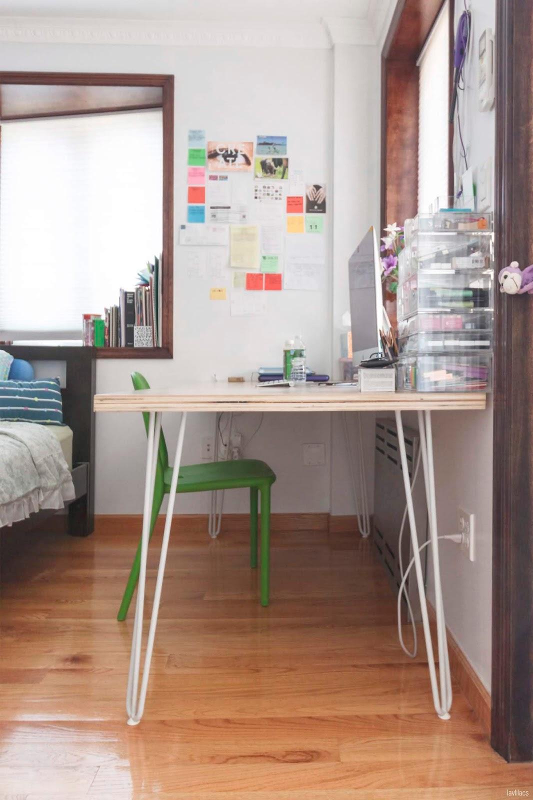 lavlilacs Custom Hairpin Desk side