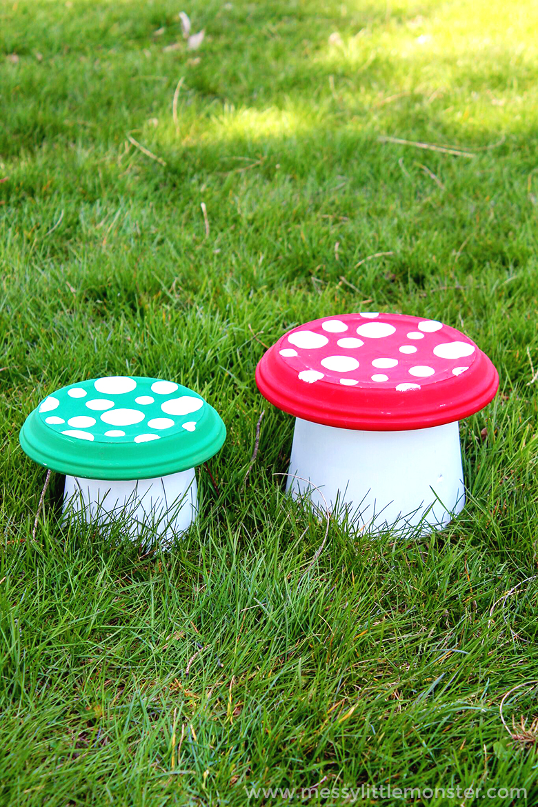 Flower Pot Toadstool - A Magical Clay Pot Craft