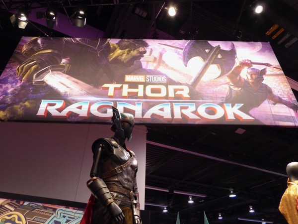 Thor Ragnarok movie exhibit D23 Expo 2017